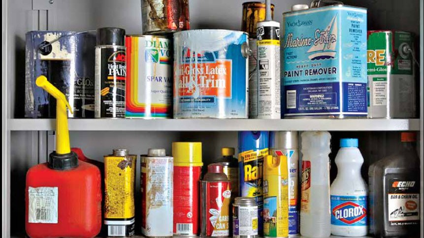 How to Manage Paint and Household Chemicals Video