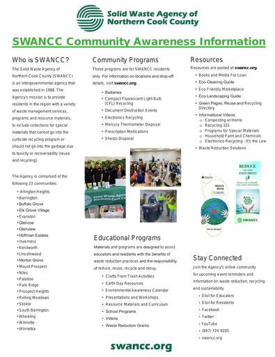 SWANCC Community Awareness