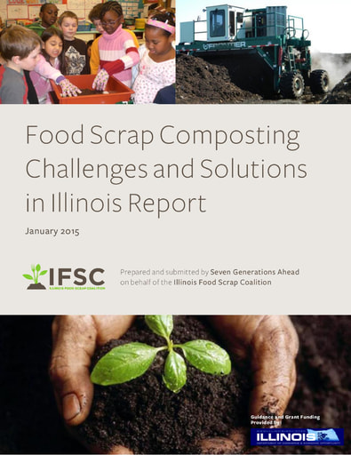 Food Scrap Composting Challenges and Solutions in IL Report