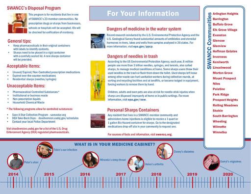 Medication Drop-Off Brochure